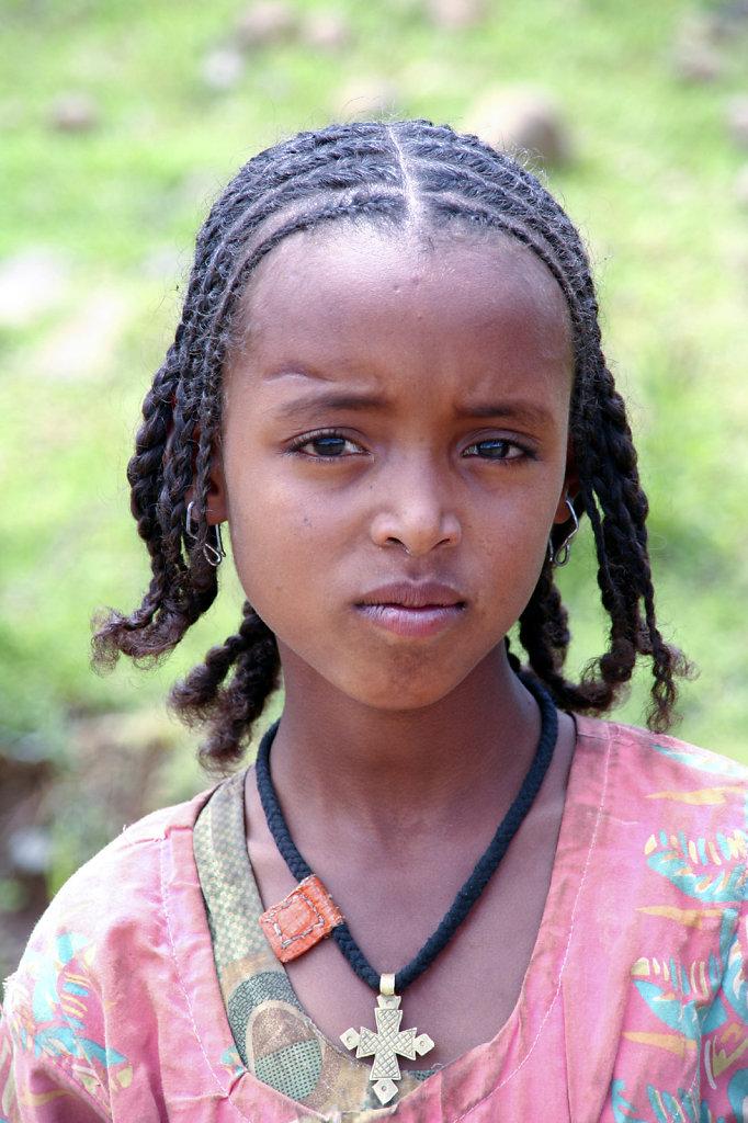 15. Ethiopie - Dorpsmeisje