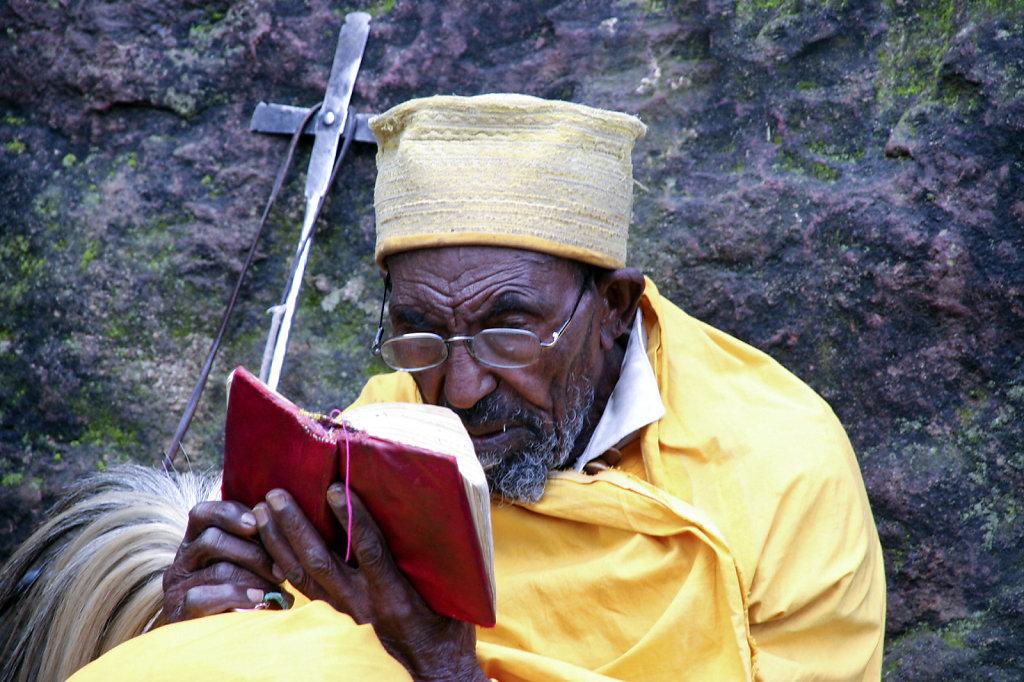 4. Ethiopie - Lalibela. Kluizenaar